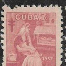 Sellos: CUBA BENEFICENCIA YVERT 34. Lote 294058488