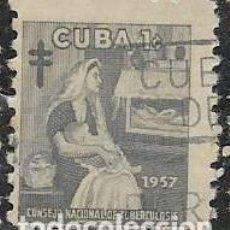 Sellos: CUBA BENEFICENCIA YVERT 35. Lote 294058558