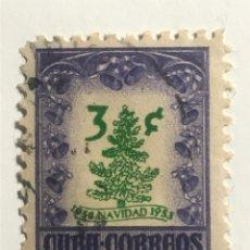 Sellos: SELLO DE CUBA AÑO 1953 NAVIDAD. Lote 295378223