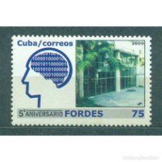Sellos: ⚡ DISCOUNT CUBA 2009 THE 5TH ANNIVERSARY OF FORDES - INFORMATION & COMMUNICATION MINISTRY MNH. Lote 296026563