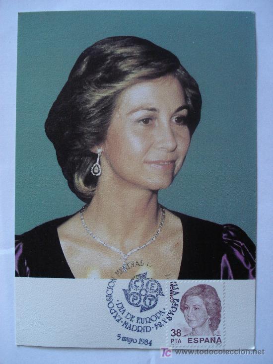 Sellos: Tres postales conmemorativas con su sello del año 1.984 - Foto 3 - 26535163