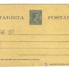 Sellos: 1894.-ENTERO POSTAL PUERTO RICO 2C - ALFONSO XIII. TIPO PELÓN. Lote 8664402