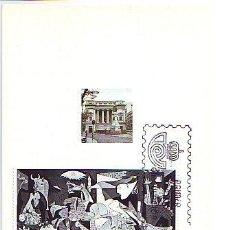 Sellos: ESPAÑA. MK EL GUERNICA. MADRID.25 OCT. 81 FECHA: 8-18 OCTUBRE 1981. Lote 223655940