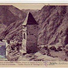 Sellos: ANDORRA ESPAÑOLA TIPOS DIVERSOS 1948-1953 (EDIFIL 52) EN BONITA Y RARA TARJETA MAXIMA. MPM.. Lote 21966838