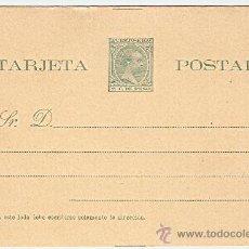 Sellos: ENTERO PUERTO RICO .ALFONSO XIII, TIPO PELÓN 1896 2C. DE PESO. Lote 9014251