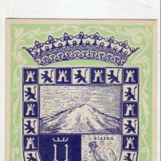 Sellos: GUINEA ESPAÑOLA ESCUDO DE SANTA ISABEL DIA DEL SELLO 1956 (EDIFIL 362) BONITA Y RARA TARJETA MAXIMA.. Lote 22128879