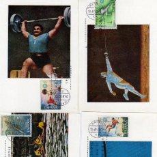 Sellos: DEPORTES-JUEGOS OLIMPICOS DE MUNICH-SERIE COMPLETA DE 1972. Lote 20580354