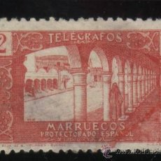 Sellos: S-2284- MARRUECOS. PROTECTORADO ESPAÑOL. TELEGRAFOS. Lote 22012136