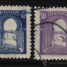 Sellos: S-2965- MARRUECOS. PROTECTORADO ESPAÑOL. TELEGRAFOS. Lote 24411650