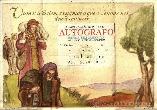 Sellos: TELEGRAFO PORTUGAL CON SELLO Y MATASELLOS DE NAZARE - 1955 - Foto 2 - 27181812