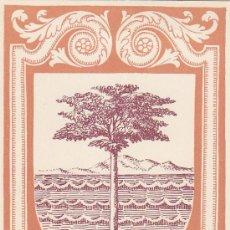 Sellos: GUINEA ESPAÑOLA ESCUDO DE BATA DIA DEL SELLO 1956 (EDIFIL 363) EN BONITA Y RARA TARJETA MAXIMA.. Lote 28224304