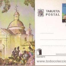 Sellos: ENTERO POSTAL FNMT ERMITA DE SAN ANTONIO DE LA FLORIDA ROMERIA. Lote 28253240