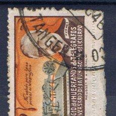 Sellos: COLEGIO HUERFANOS DE TELEGRAFOS MATASELLADO TANGER. Lote 29619586