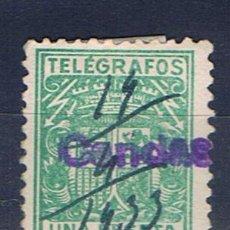 Briefmarken - telegrafos 1 pts fechador 1933 candas - 29632693