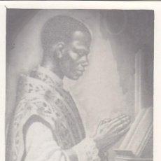 Sellos: GUINEA ESPAÑOLA RELIGION CENTENARIO PREFECTURA 1955 (EDIFIL 344) EN BONITA Y RARA TARJETA MAXIMA.. Lote 30032609