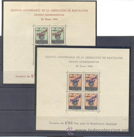 AYUNTAMIENTO DE BARCELONA. EDIFIL NE25/NE26 * (Sellos - España - Dependencias Postales - Beneficencia)