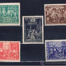 VELAZQUEZ 1938 edifil 29-33 NUEVO** VALOR 2012 CATALOGO 5.20 EUROS serie completa