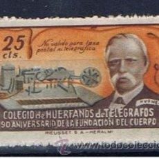 Sellos: BENEFICENCIA 25 CTS NUEVO*** COLEGIO DE HUÉRFANOS DE TELÉGRAFOS. Lote 33402943