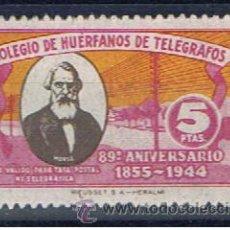 Sellos: BENEFICENCIA 5 PTS NUEVO*** COLEGIO DE HUÉRFANOS DE TELÉGRAFOS. Lote 33403152