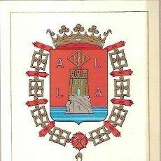 Sellos: TARJETA POSTAL MAXIMA ESCUDO DE ALICANTE PRIMER DIA DE CIRCULACION 1962. Lote 38170352