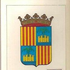 Sellos: TARJETA POSTAL MAXIMA ESCUDO DE BALEARES PRIMER DIA DE CIRCULACION 1962. Lote 38170376