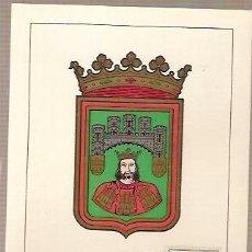 Sellos: TARJETA POSTAL MAXIMA ESCUDO DE BURGOS PRIMER DIA DE CIRCULACION 1962. Lote 38170393