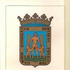 Sellos: TARJETA POSTAL MAXIMA ESCUDO DE CADIZ PRIMER DIA DE CIRCULACION 1963. Lote 38170416