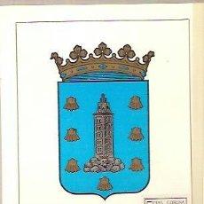 Sellos: TARJETA POSTAL MAXIMA ESCUDO DE LA CORUÑA PRIMER DIA DE CIRCULACION 1963. Lote 38170540