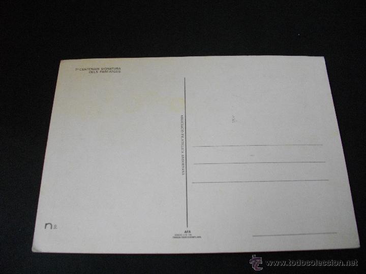 Sellos: ANDORRA.700 AÑOS SIGNATURA DELS PAREATGES.PRIMER DIA ANDORRA LA VELLA - Foto 2 - 43248633