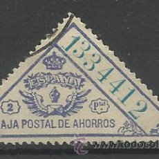 caja postal de ahorros 2 pts usado