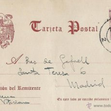 Sellos: VITORIA. 19 DE SEPTIEMBRE DE 1946. CIRCULADA. FRANCO PERFIL 25 CTS.. Lote 46330566