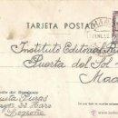 Sellos: HARO. LOGROÑO. 2 DE ENERO DE 1953. CIRCULADA. CASTILLO LA MOTA 40 CTS.. Lote 46331890