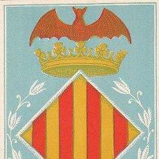 Sellos: GUINEA ESPAÑOLA EDIFIL 374, AYUDA A VALENCIA, ESCUDO VALENCIA, TARJETA MÁXIMA SANTA ISABEL 27-3-1958. Lote 53811689