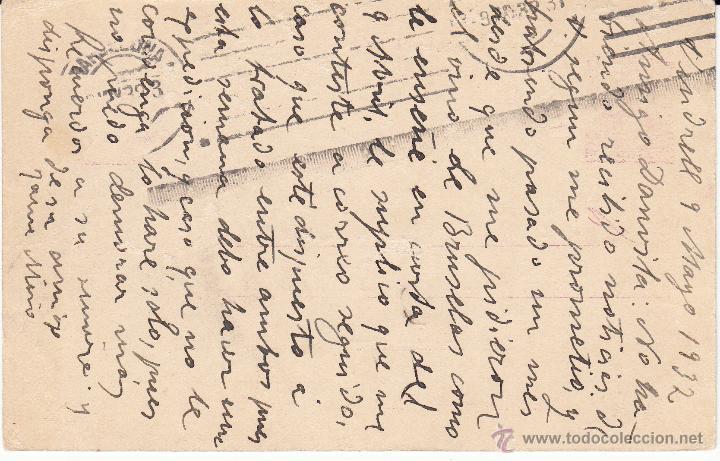 Sellos: ENTERO POSTAL REPÚBLICA 1934 CAT LAIZ NUM. 69- MATASELLOS DE EL VENDRELL -TARRAGONA- - Foto 2 - 54591729