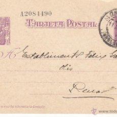 Sellos: ENTERO POSTAL REPÚBLICA CAT LAIZ NUM. 76 DE FRANCISCO MOLAS DE MONTBLANC -1937-. Lote 54592416
