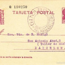 Sellos: ENTERO POSTAL REPÚBLICA 1936 CAT LAIZ NUM. 69- DE GINARD DE PALMA DE MALLORCA ---1933----. Lote 57752936
