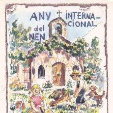 Selos: ANDORRA ESPAÑOLA AÑO INTERNACIONAL DEL NIÑO 1979 (EDIFIL 127) BONITA TARJETA MAXIMA PRIMER DIA. MPM. Lote 61130127