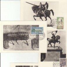Sellos: 1444/7. RODRIGO DÍAZ DE VIVAR-EL CID- 1962. Lote 62501352