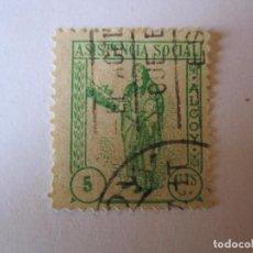 Sellos: SELLO BENEFICENCIA ASISTENCIA SOCIAL ALCOY 5 CENTIMOS. Lote 63435000