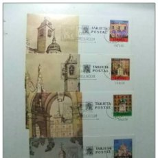Sellos: ESPAÑA 1975 EXPOSICION FILATELICA EDIFIL Nº 107 /110 VISTAS DE MADRID PRIMER DIA DE CIRCULACIÓN. Lote 66060546