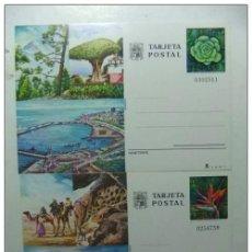 Sellos: ENTERO POSTAL 1977 LAS PALMAS TENERIFE (CANARIAS) EDIFIL Nº 115 / 116 NUEVAS. Lote 66062158