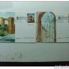 Sellos: ESPAÑA 1983 ENTERO POSTAL EDIFIL Nº 133 /134 TURISMO AVILA LUGO PRIMER DIA DE CIRCULACION . Lote 66072054