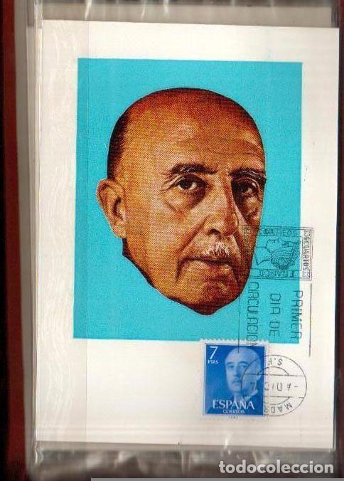 Sellos: MAXIMAS GENERAL FRANCO 1974, 4 VALORES PRIMER DIA MADRID LAS DE LAS FOTOS - Foto 3 - 66102486