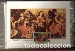 MAXIMAS- DIA DEL SELLO JUAN DE JUANES COMPLETA 6 TARJETAS PRIMER DIA MADRID -VER LAS FOTOS (Sellos - España - Dependencias Postales - Tarjetas Máximas)