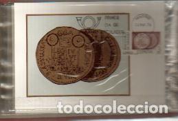 MAXIMAS- BIMILENARIO DE ZARAGOZA 1976 COMPLETA 3 VALORES PRIMER DIA MADRID -VER LAS FOTOS (Sellos - España - Dependencias Postales - Tarjetas Máximas)