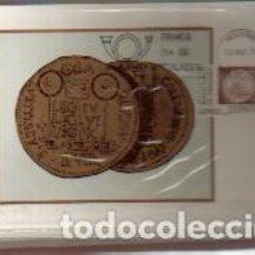 Sellos: MAXIMAS- BIMILENARIO DE ZARAGOZA 1976 COMPLETA 3 VALORES PRIMER DIA MADRID -VER LAS FOTOS. Lote 66115438