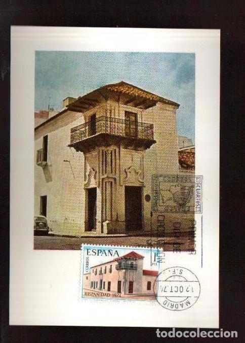 Sellos: MAXIMAS- HISPANIDAD ARGENTINA 3ª SERIE COMPLETA 4 VALORES PRIMER DIA MADRID -VER LAS FOTOS - Foto 4 - 66115946