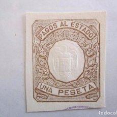 Sellos: PAGOS AL ESTADO 1 PESETA. Lote 75188511