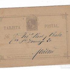 Sellos: ENTERO POSTAL. 1887. MADRID. VER. Lote 75949931