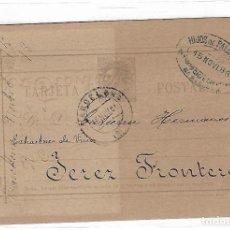 Sellos: ENTERO POSTAL. BARCELONA. 1889. HIJOS DE PALAY Y CIA. VER. Lote 75950947